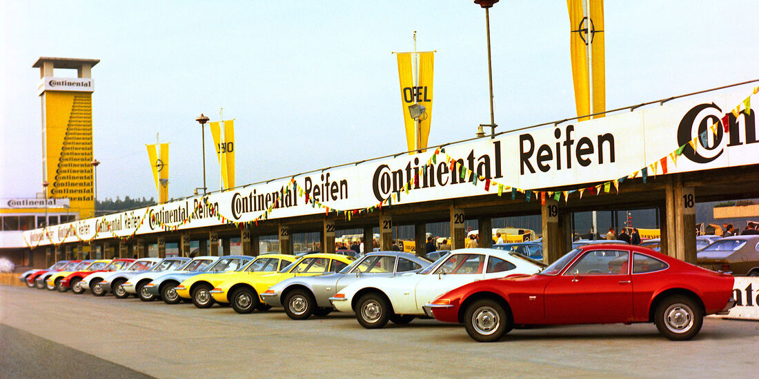 50 Jahre Opel GT Hockenheimring