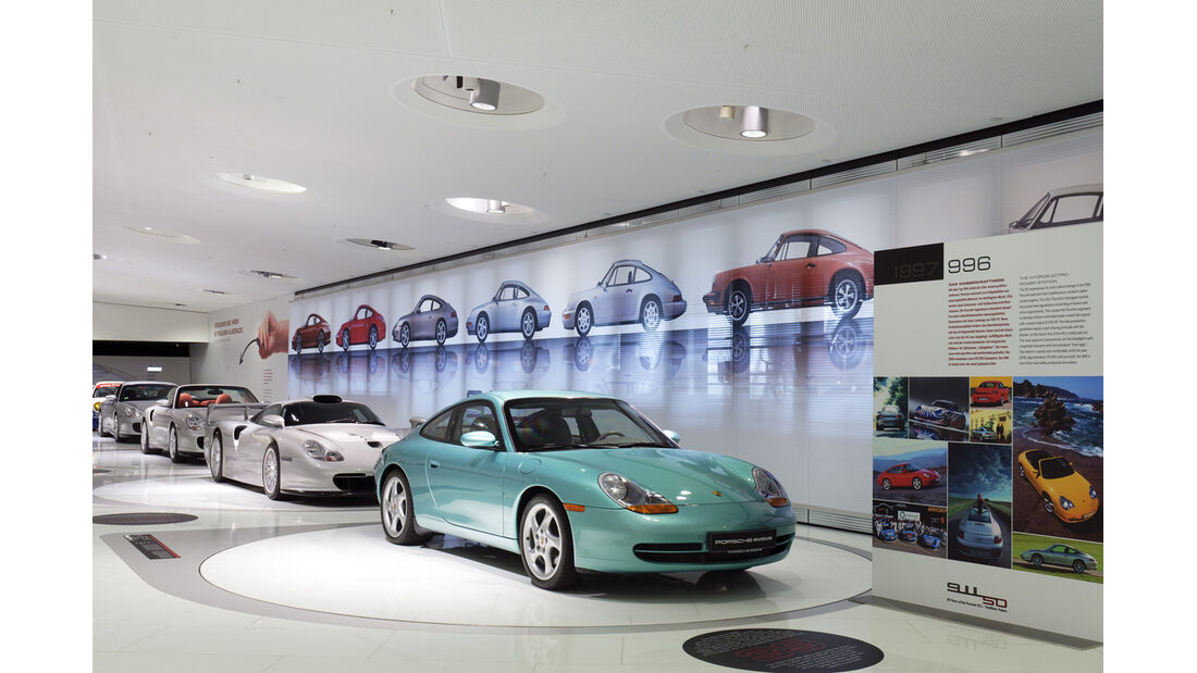 56 Jahre Porsche 911 Museum