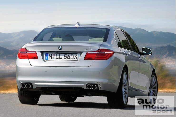 5er BMW- Computerretusche