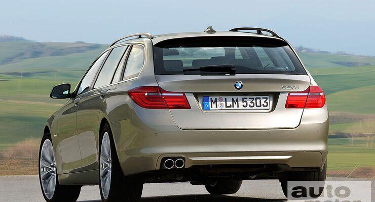 5er BMW Touring- Computerretusche