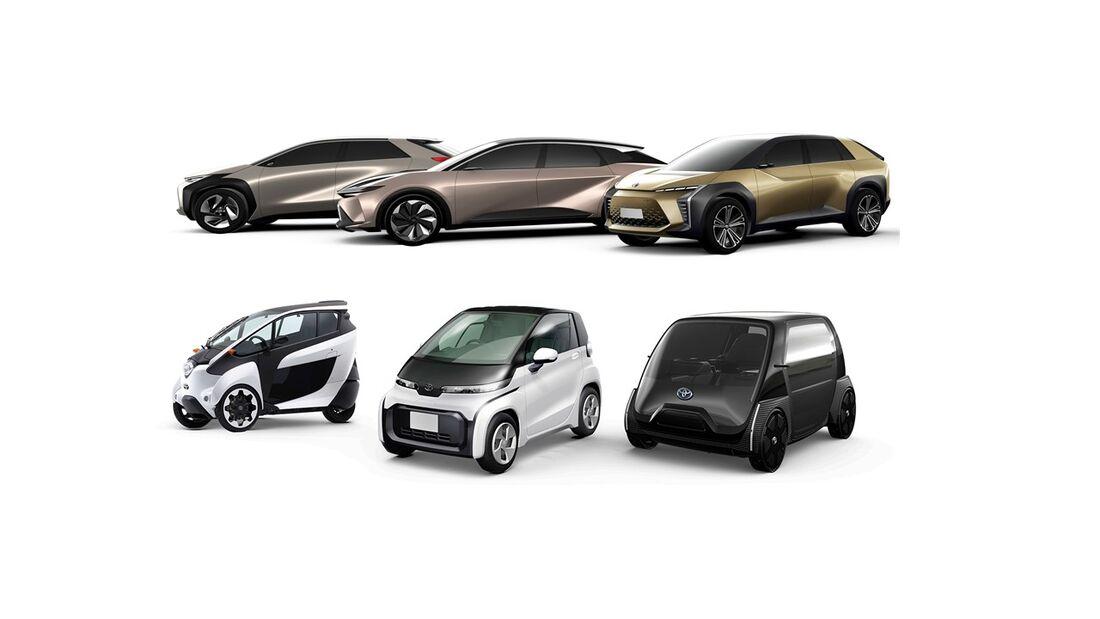 6/2019, Toyota Elektroauto Studien 2020