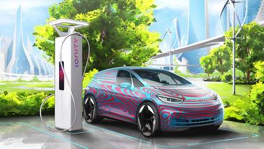6/2019, VW ID Prototyp Ionity Saeule