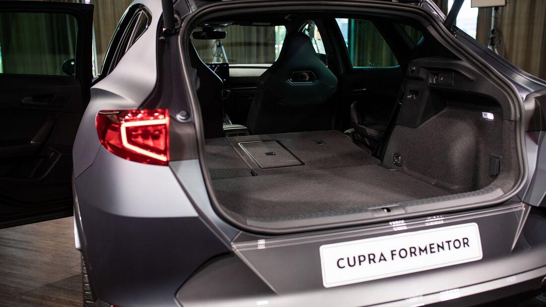 6/2020, Cupra Formentor Sitzprobe