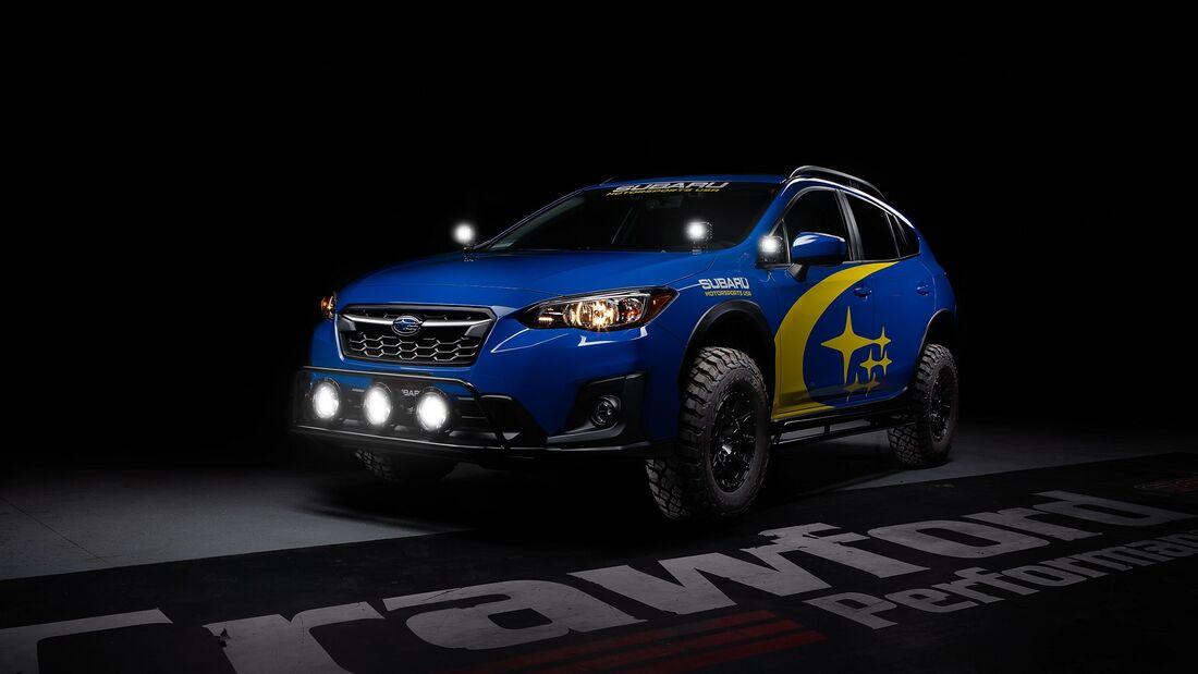 6/2020, Subaru Crosstrek Rallye Look