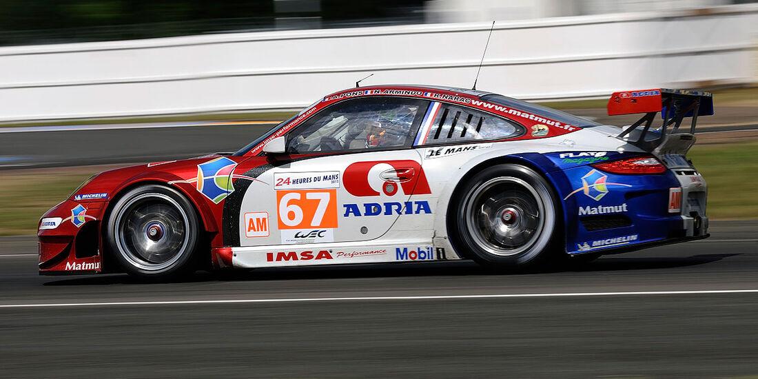67-Am-GTE-Klasse, Porsche 911 RSR (997), 24h-Rennen LeMans 2012