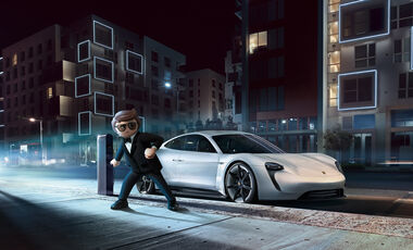 7/2019, Playmobil Porsche Mission E