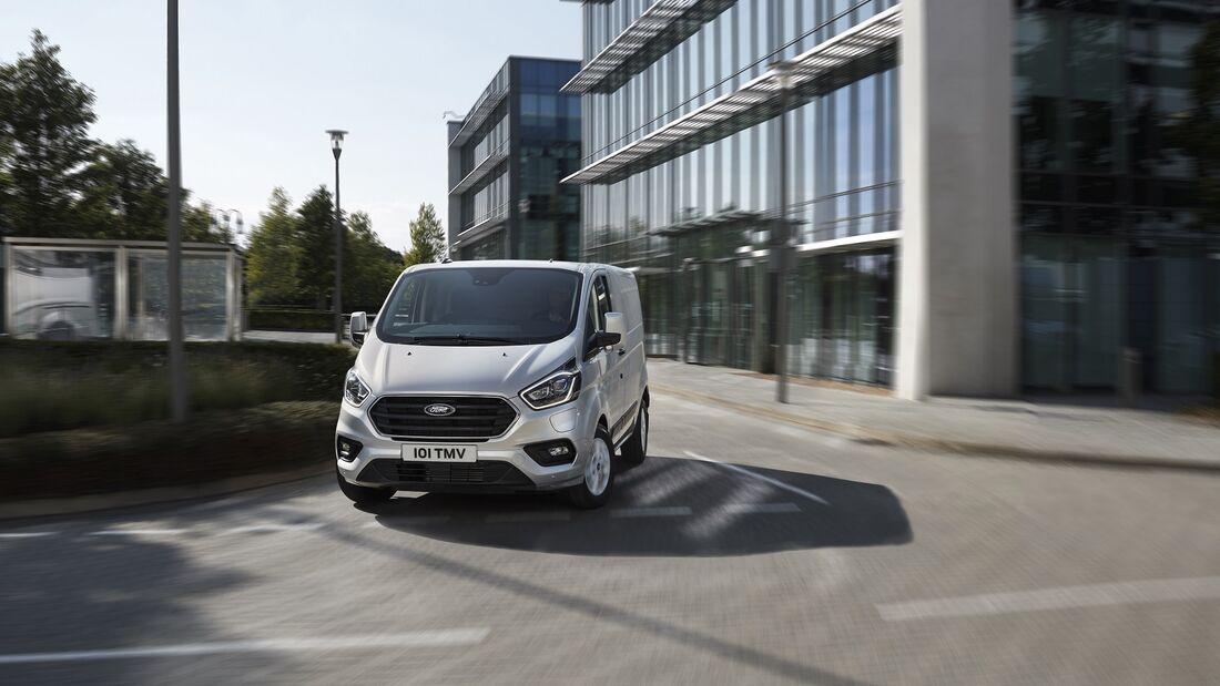 7/2020, Ford Transit Custom PHEV