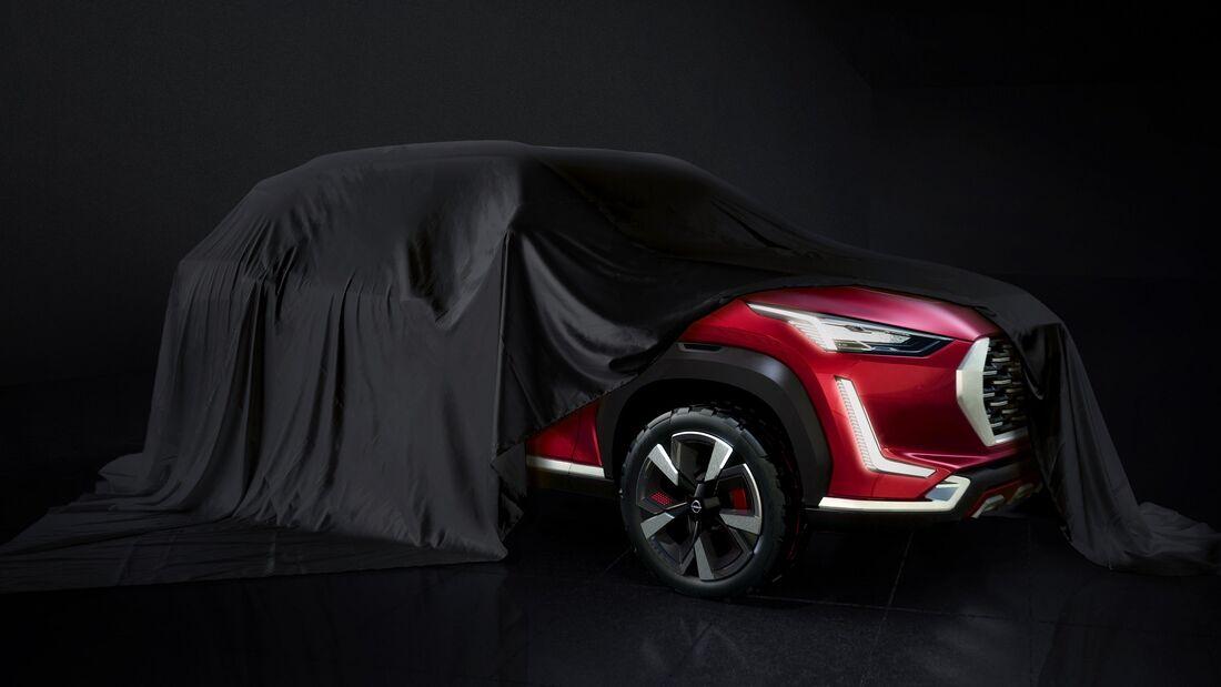 7/2020, Nissan B-SUV Indien