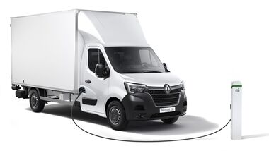 7/2020, Renault Master Z.E. Fahrgestell