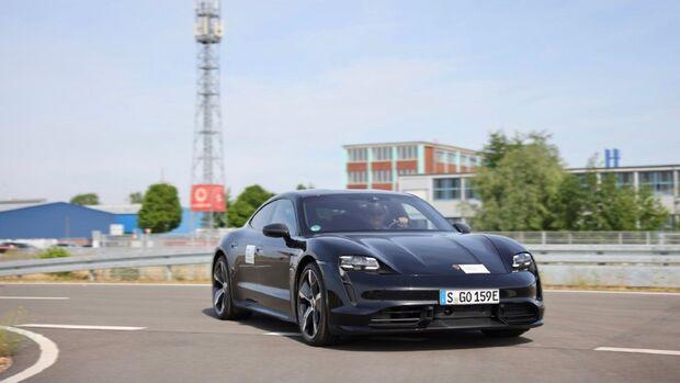 7/2021, Porsche Here Vodafone