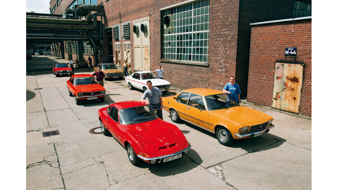 7 Opel, Gruppenbild