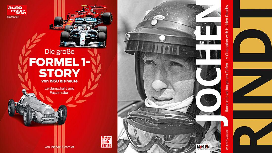 70 Jahre F1 Buch - Jochen Rindt-Buch - Cover - 2020
