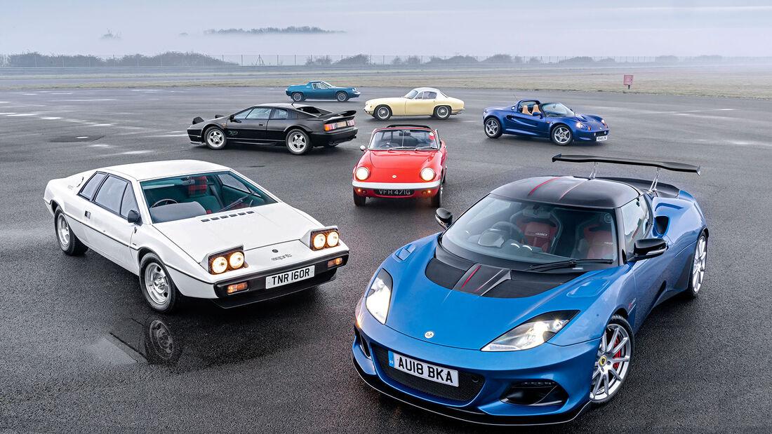 70 Jahre Lotus, Fahrbericht, spa032019