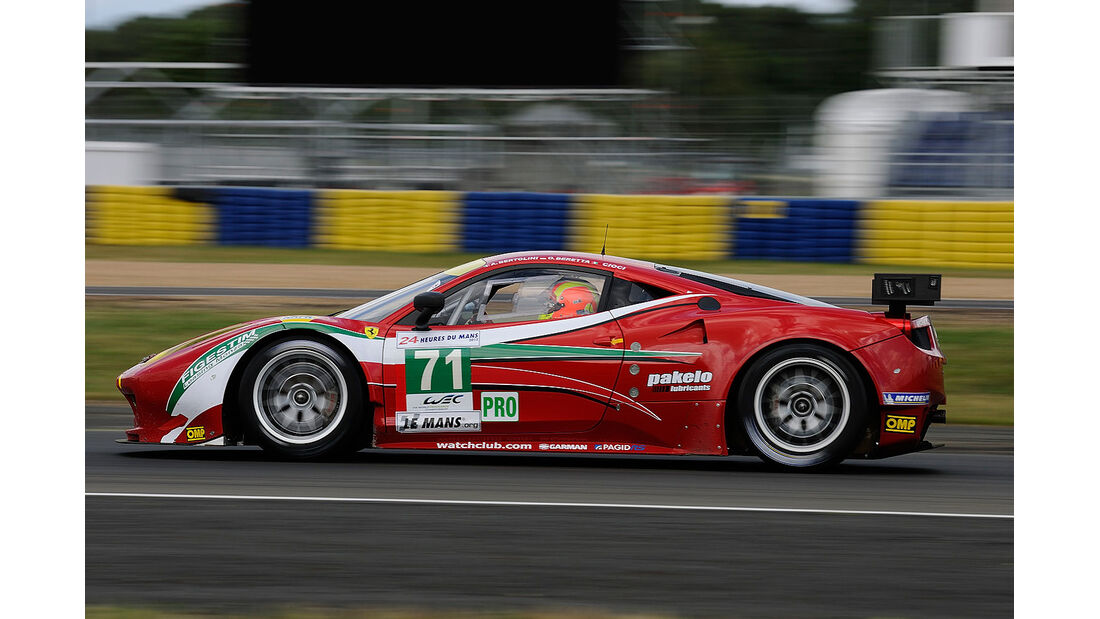 71-Pro-GTE-Klasse, Ferrari 458 Italia, 24h-Rennen LeMans 2012