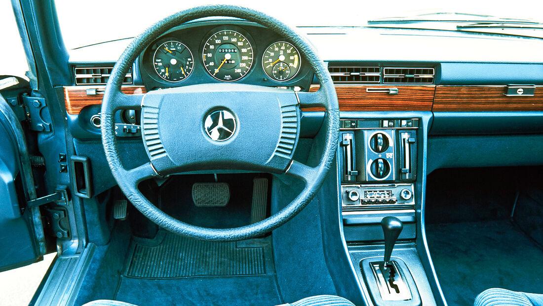 75 Jahre AMS 11.02.2021 Mercedes 450 SEL.