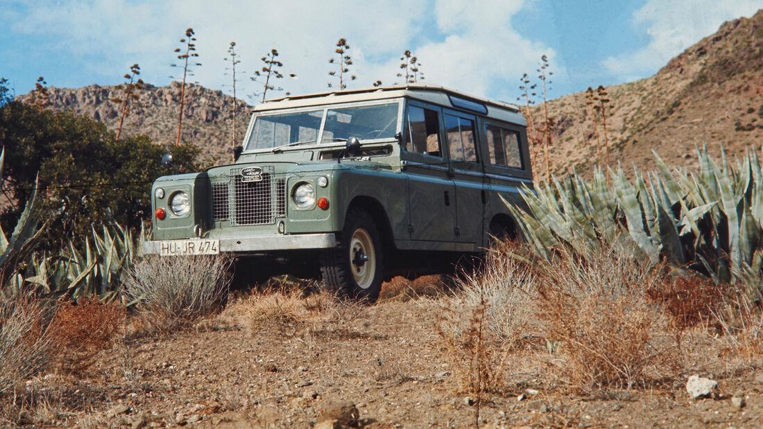 75 Jahre AMS 15.4. Land Rover