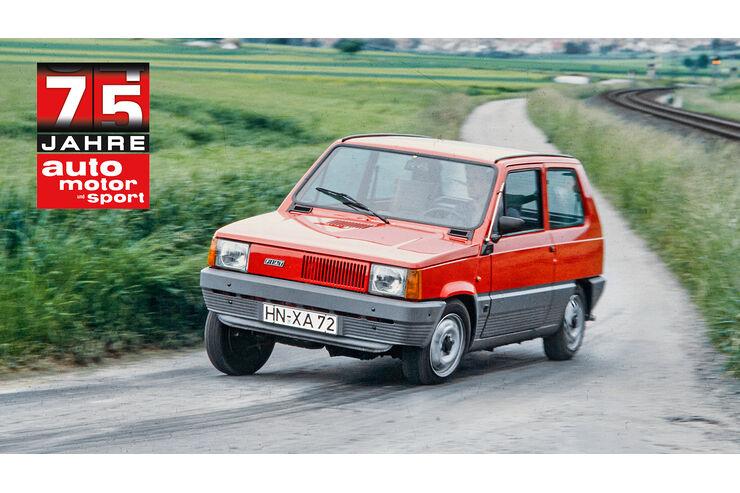 75 Jahre auto motor und sport: Fiat Panda - auto motor und sport