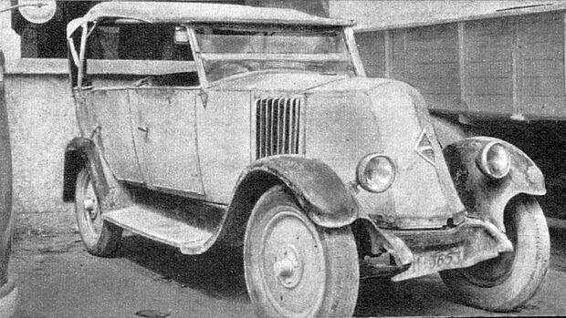 75 Jahre AMS 18.3. Mallorca - 9/35 PS Renault von 1925