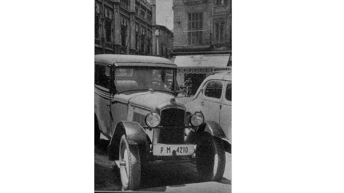 75 Jahre AMS 18.3. Mallorca - Peugeot 1 Liter Typ 201 von 1930