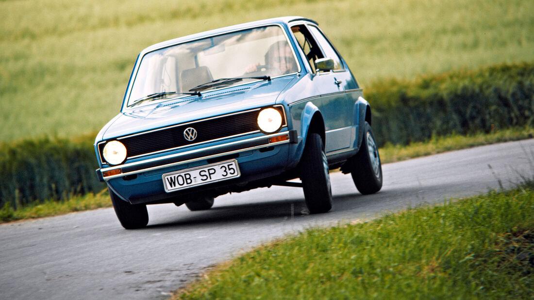 75 Jahre AMS 8.4. VW Golf 1