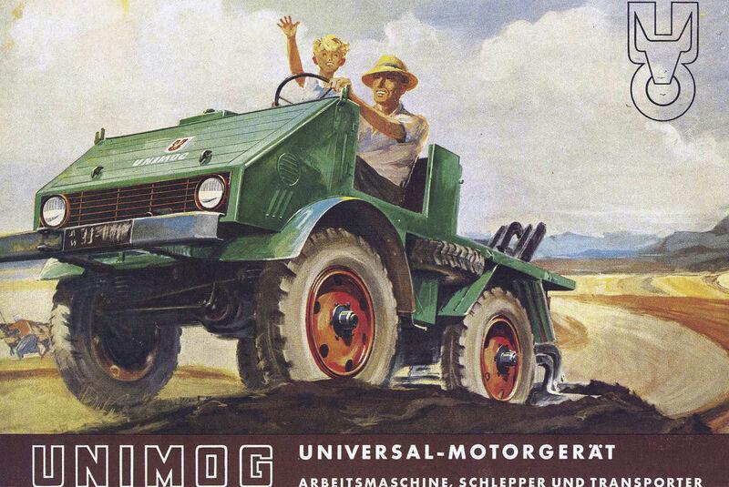 75 Jahre Unimog