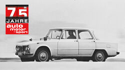 75 Jahre ams 28.1. Alfa Romeo Giulia