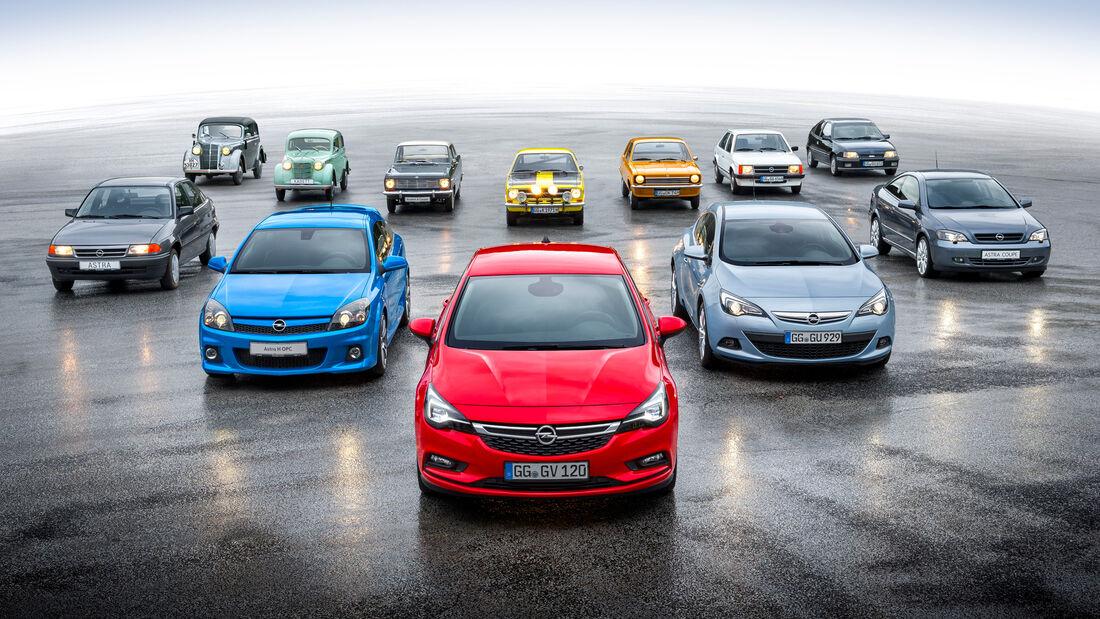 80 Jahre Opel Kadett
