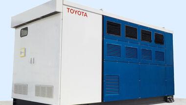 9/2019, Toyota Brennstoffzelle stationär