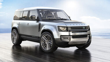 9/2020, Land Rover Defender Carlex Design Yachting Edition