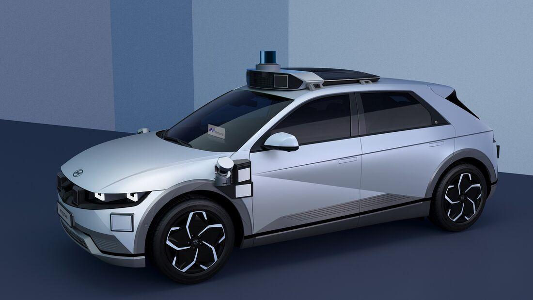 9/2021, Hyundai Ioniq 5 Robotaxi