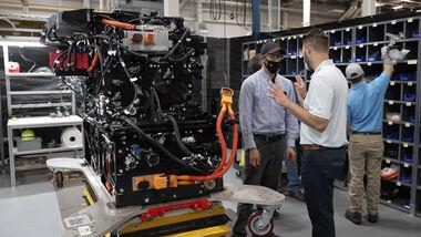 9/2021, Toyota Lkw Brennstoffzelle