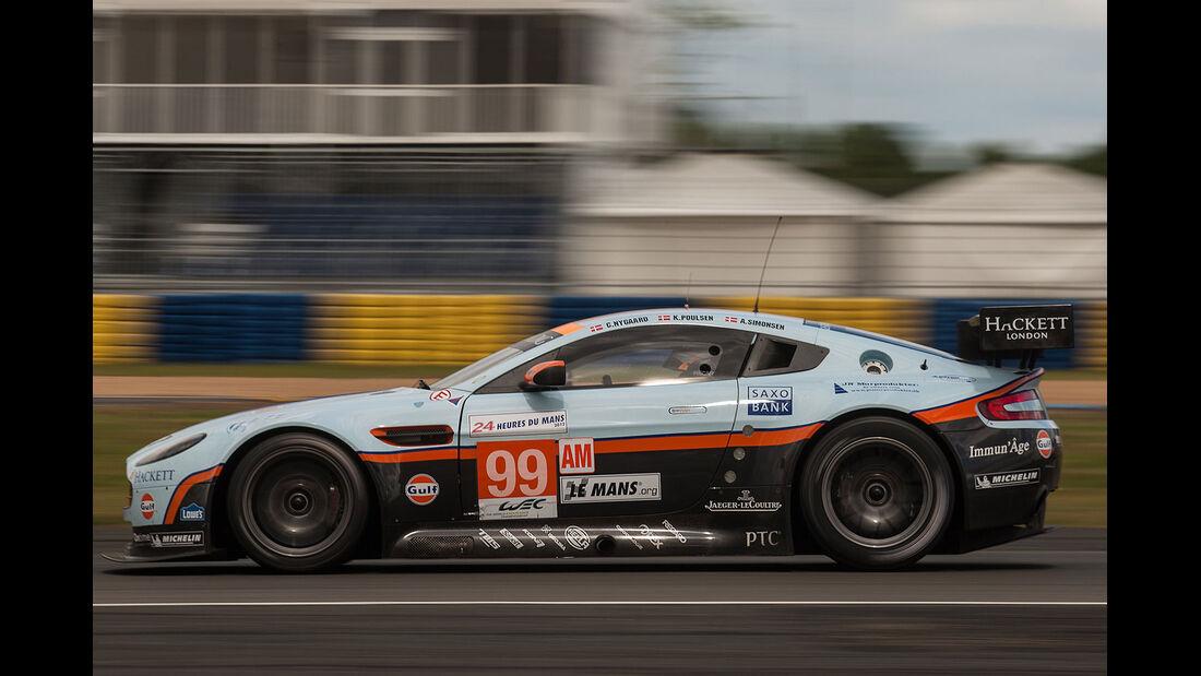 99-Am-GTE-Klasse, Aston Martin Vantage V8, 24h-Rennen LeMans 2012