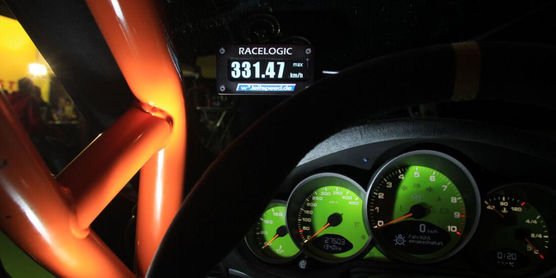 9ff Porsche 911 GT3, Detail, Tacho, 331.47