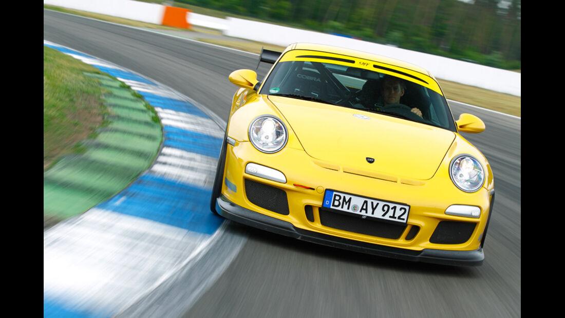 9ff-Porsche GT3 G-Track, Frontansicht
