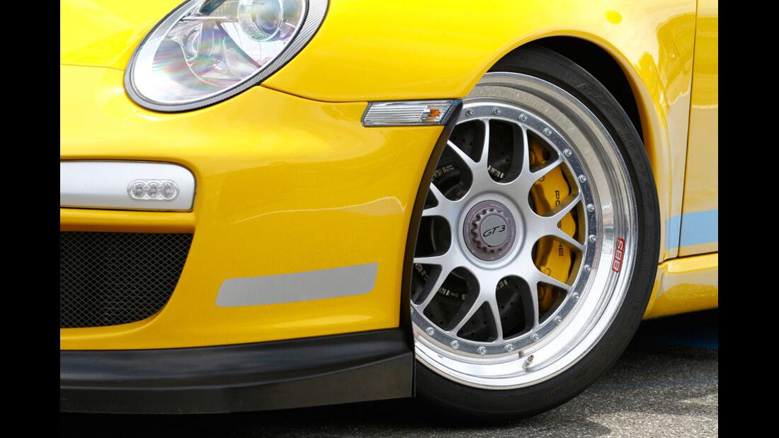 9ff-Porsche GT3 G-Track, Vorderrad, Felge