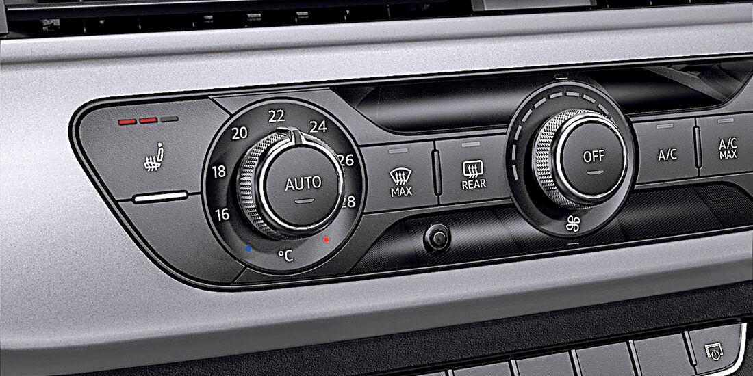 A4 Avant 2.0 TDI, A6 Avant 2.0 TDI, Sitzheizung