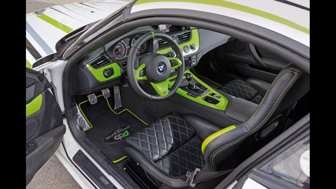 AC Schnitzer 99d, Cockpit, Fahrersitz