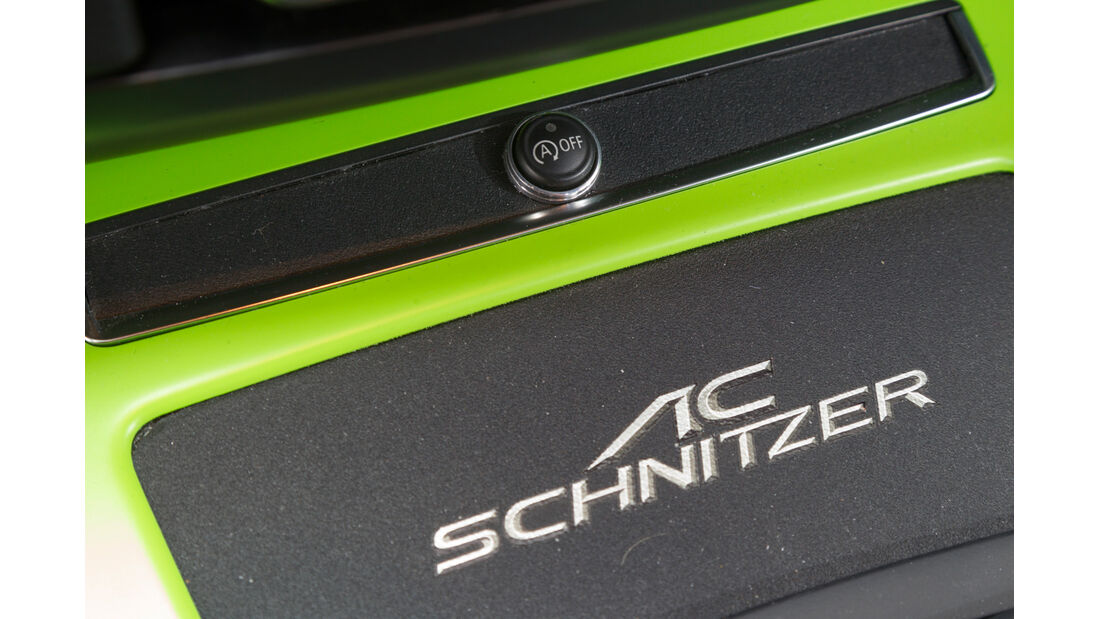 AC Schnitzer 99d, Schriftzug