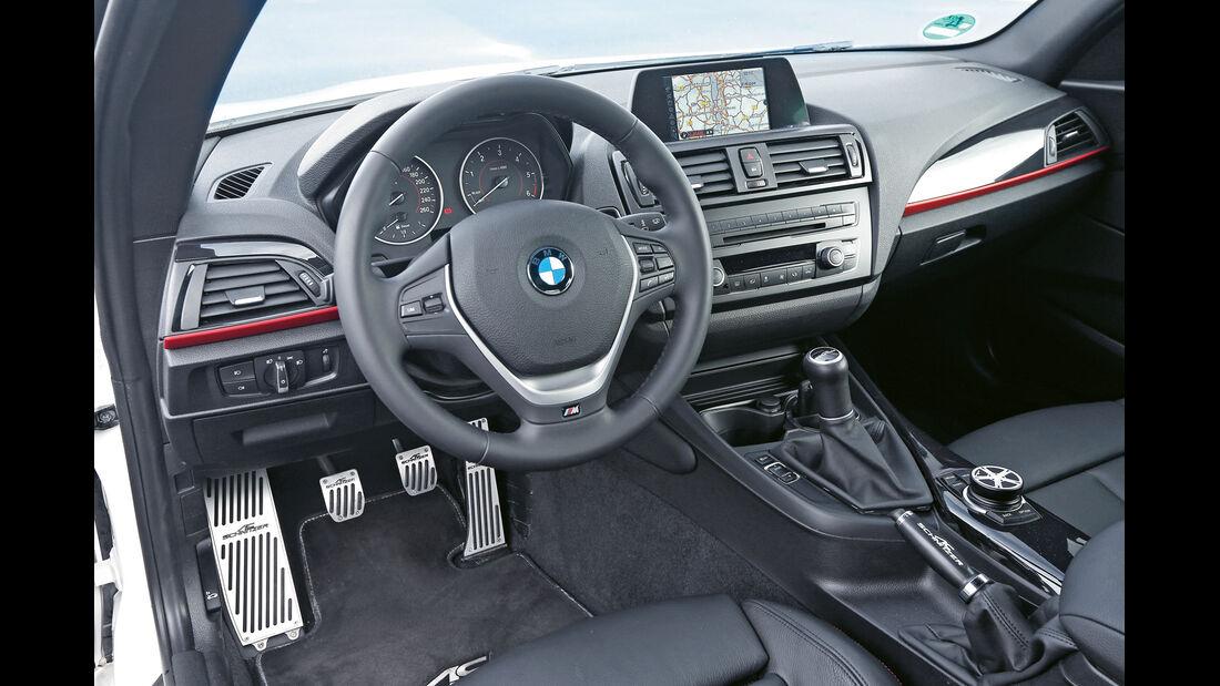 AC Schnitzer-BMW 118d, Cockpit, Lenkrad