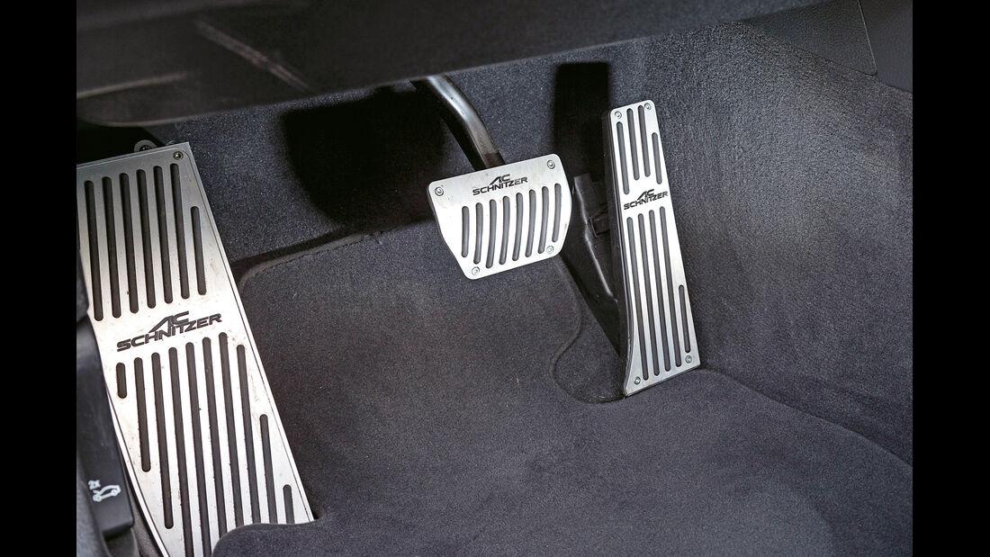 AC-Schnitzer-BMW 335d, Pedalerie