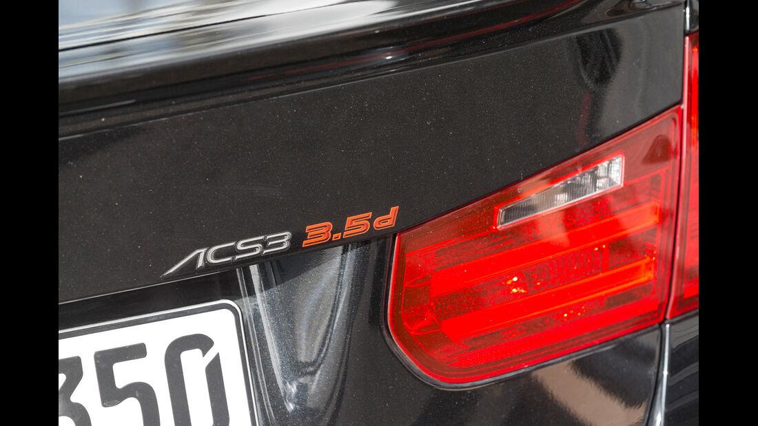 AC-Schnitzer-BMW 335d, Typenbezeichnung, Heckleuchte