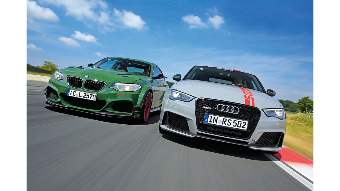 AC Schnitzer-BMW ACL2, MTM-Audi RS 3 Sportback