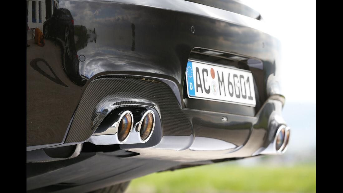 AC-Schnitzer-BMW ACS6 Sport Gran Coupé, Endrohre