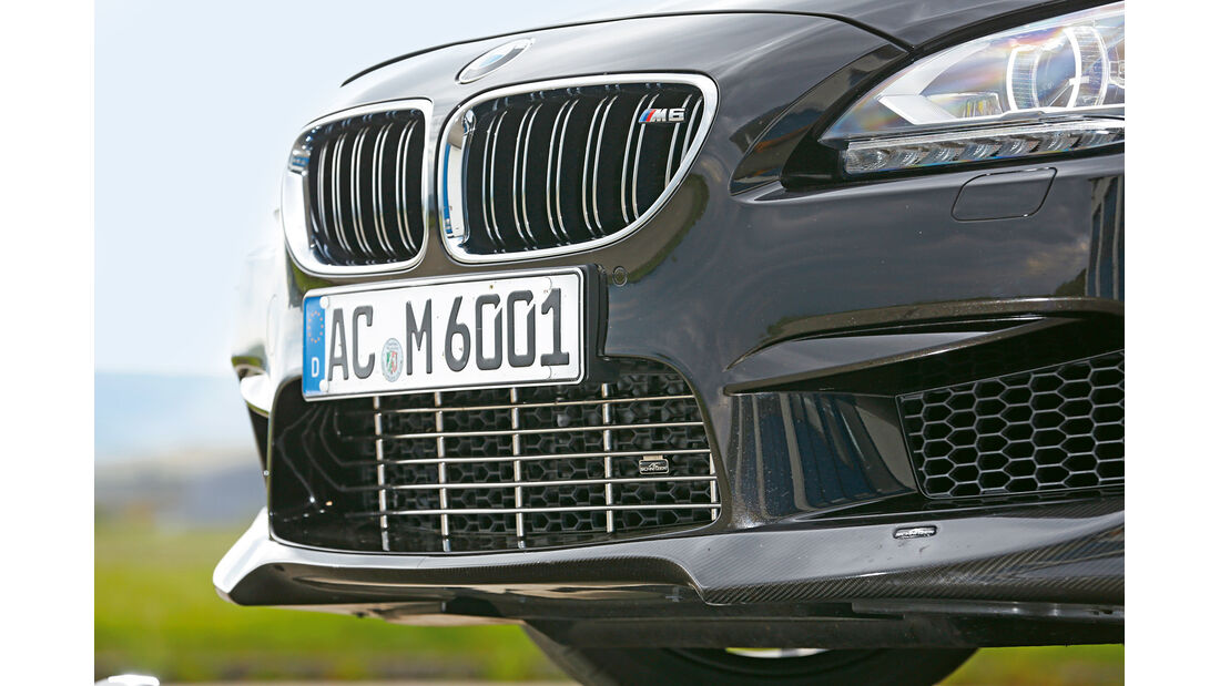 AC-Schnitzer-BMW ACS6 Sport Gran Coupé, Kühlergrill