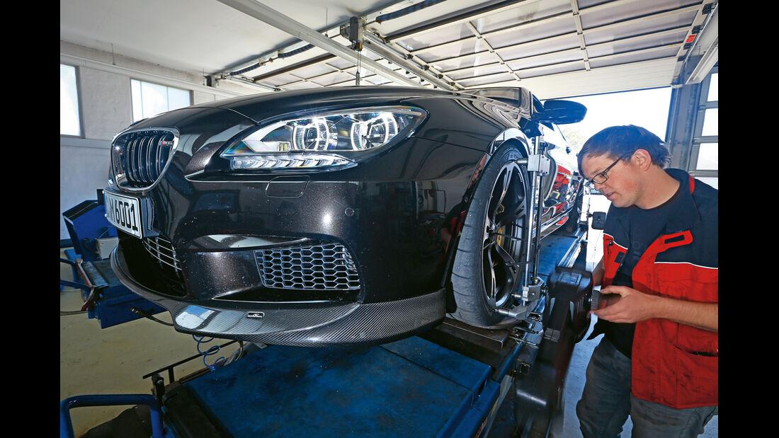 AC-Schnitzer-BMW ACS6 Sport Gran Coupé, Prüfstand