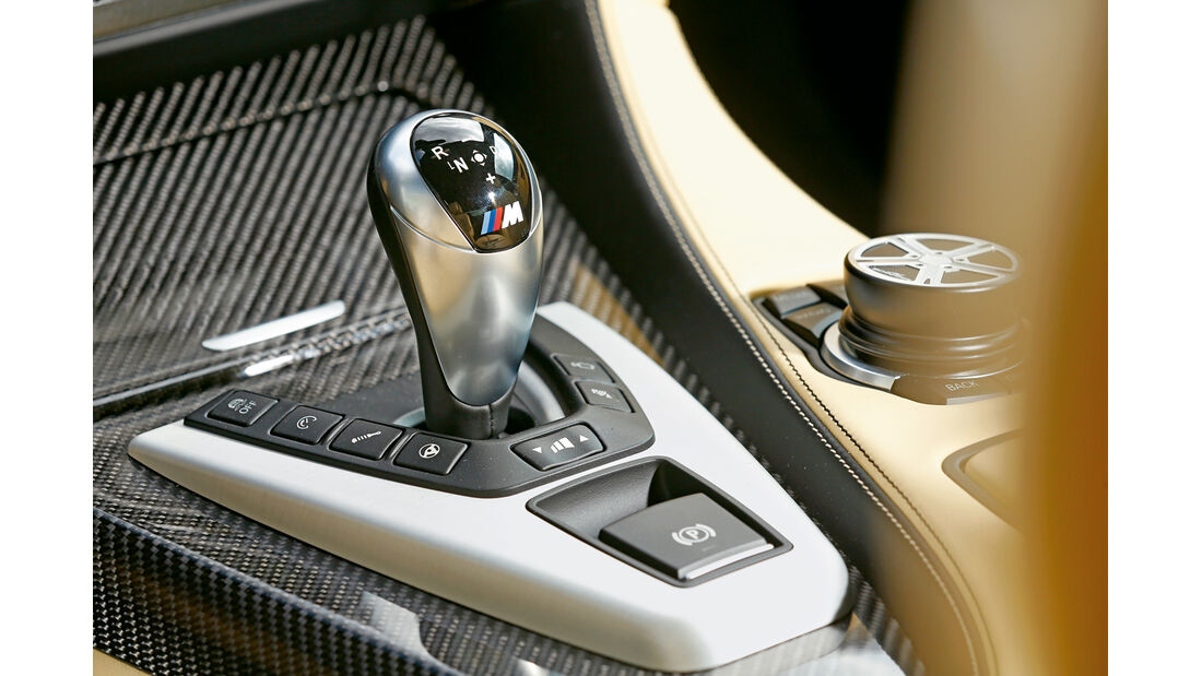 AC-Schnitzer-BMW ACS6 Sport Gran Coupé, Schalthebel