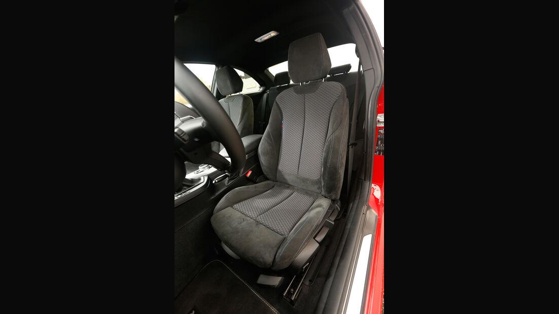 AC Schnitzer-BMW M235i, Fahrersitz