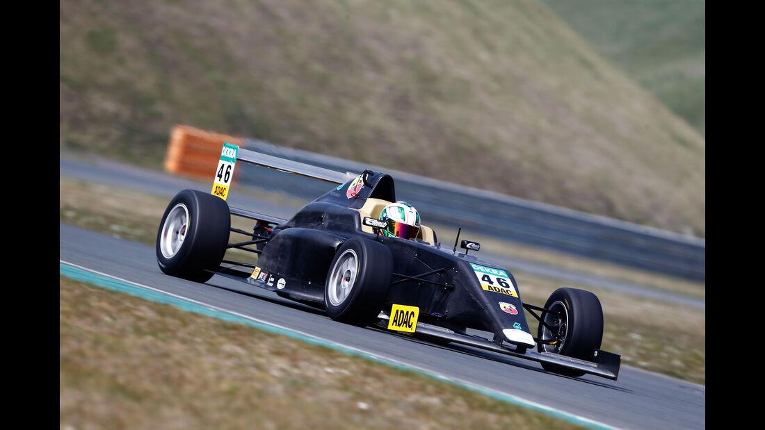 ADAC Formel 4 - Mauro Auricchio - Team Timo Scheider - Testfahrten Oschersleben