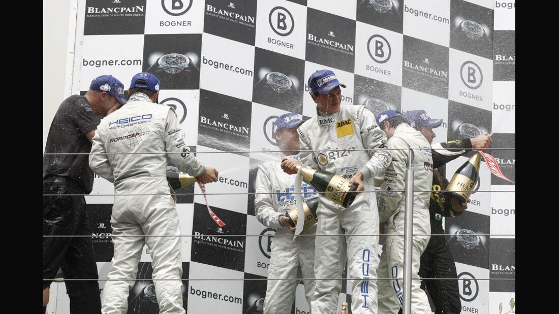 ADAC-GT-Masters, Champagnerdusche
