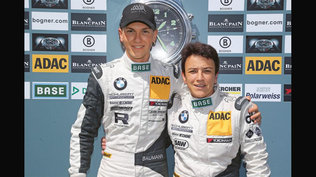 ADAC GT Masters, Dominik Baumann, Claudia Hürtgen